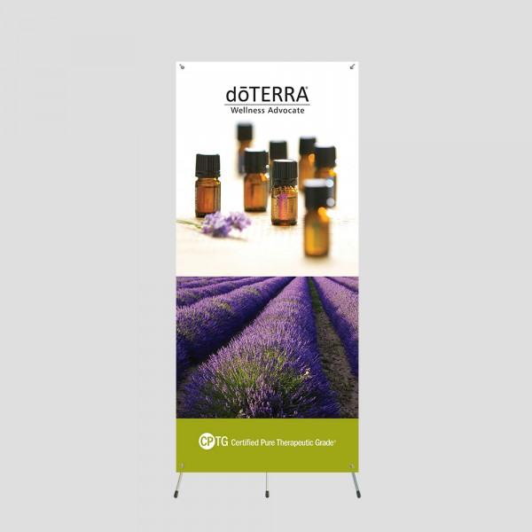 Lavender 5ft Grasshopper Banner