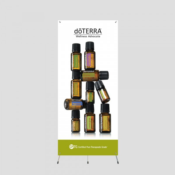 10 Bottles 5ft Grasshopper Banner