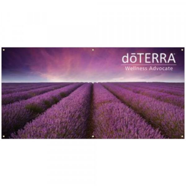 Lavender Hanging Banner 6' x 3'