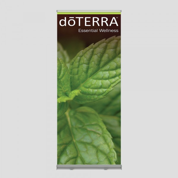 Mint Roll Up Banner
