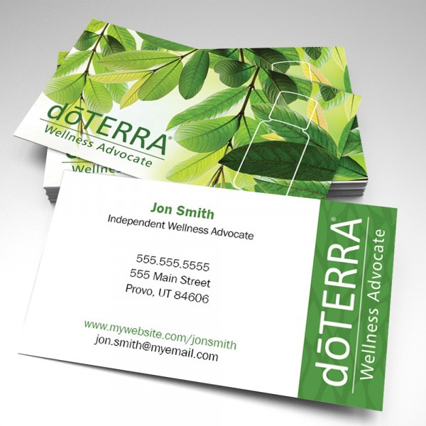 Leafy Business Cards (pack of 250)