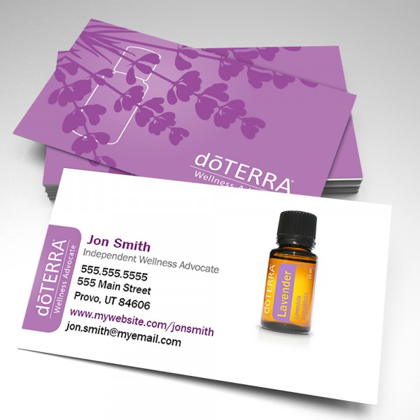 Essential Oils Business Cards (pack of 250)
