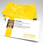 Essential Oils Business Cards w/ Photo (pack of 250)