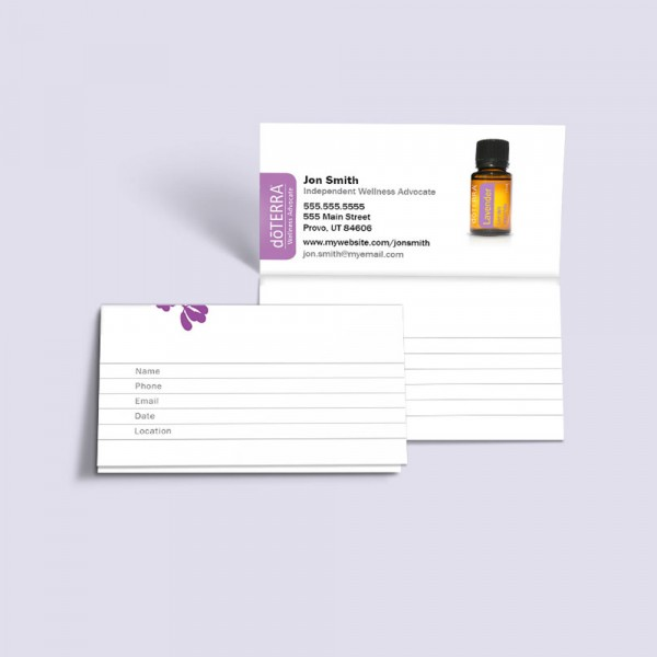 2 Part Perforated Business Cards (pack of 250)