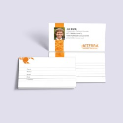 2 Part Perforated Business Cards with Photo (pack of 250)